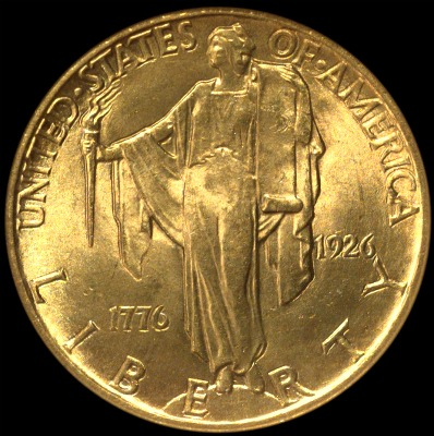 1926 Sesquicentennial 2 1 2 Gold Type Set Coin Collecting