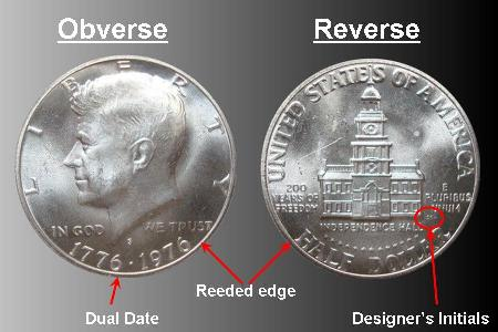 What is the value of a 1976 bicentennial dollar coin?