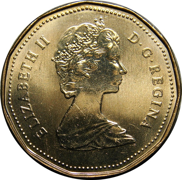 Proof Box5 KM-186 Canada 1987 Dollar