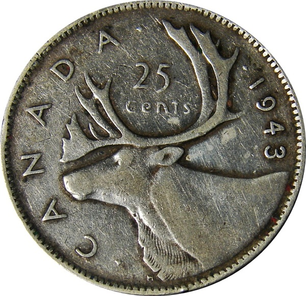 Canada: 1937-1952 George VI 25 Cents - Type Set Coin Collecting