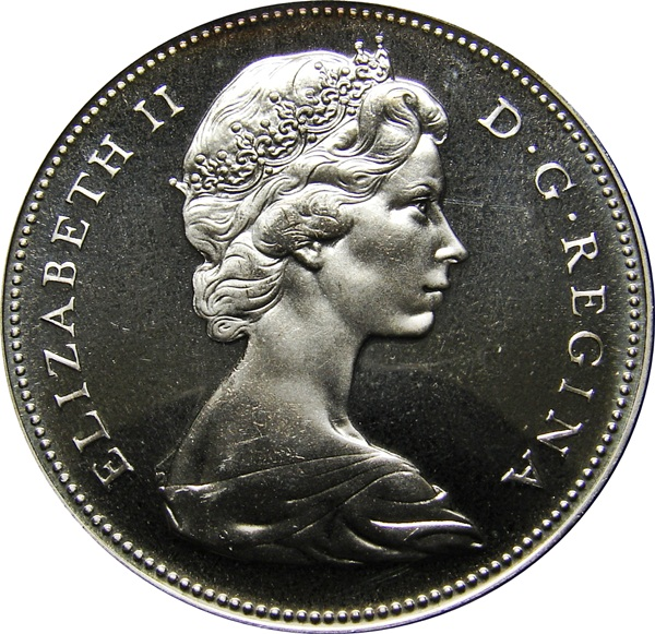 1867-1967 SP 1967 Canada Silver 50 Cents UNCIRCULATED Coin