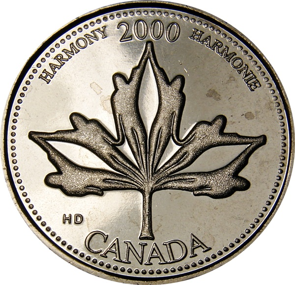 Our Treasures Quarter 25 Cent /'00 Canada//Canadian Coin UNC 2000 Natural Legacy