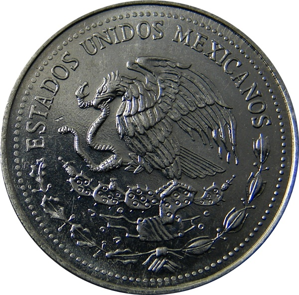 True Market Value >> Mexico: 50 Centavos 1983 Palenque - Type Set Coin Collecting
