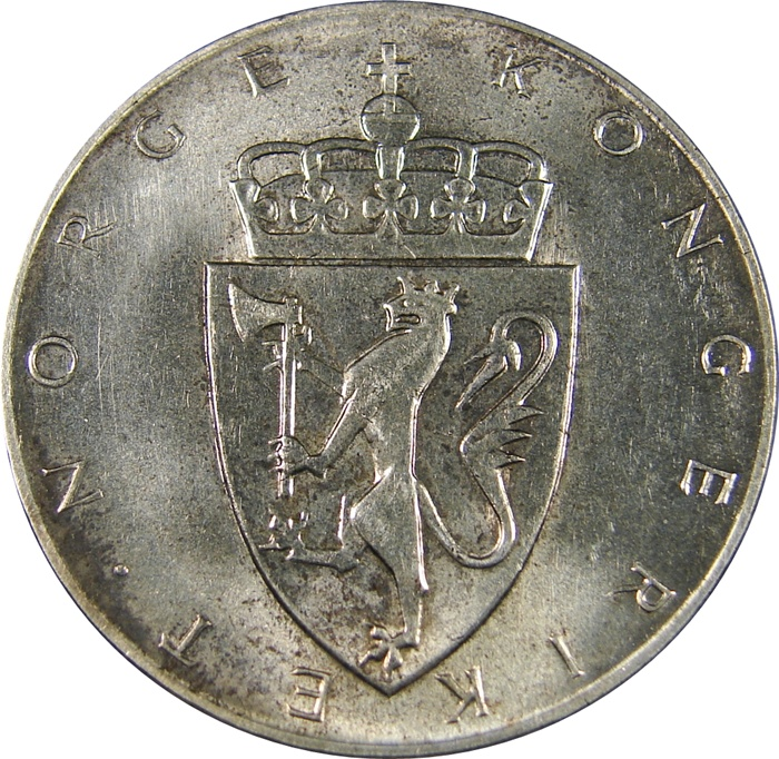 Norway Silver 10 Kroner 1964 Type Set Coin Collecting