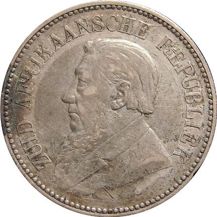 South Africa Kruger 2 1 2 Shillings 1892 1897 Type Set